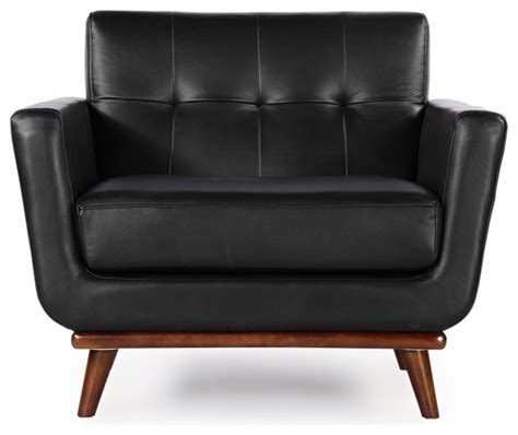 kardiel jackie mid century modern classic chair black