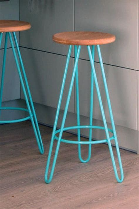hairpin leg bar stool choice  colours