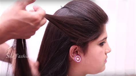 hair style  ladies tutorials  hair style