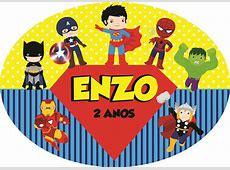 ELIPSE SUPER HEROIS 3 no Elo7 PEDACINHO DE GENTE By