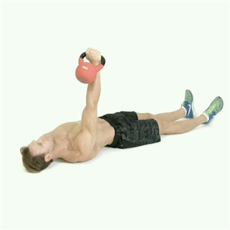 kettlebell chest workout shoulders gain exercises presses skimble exercise workouts