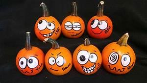 15, cute, fall, pumpkin, painting, ideas, , u2013, obsigen