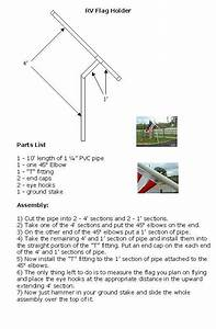 Rv Pvc Flagpole Flag Pole Plans