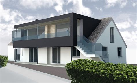 Dormer Extension Plans by Horizons Contemporary Dormer Extension Barc Architects