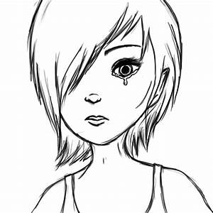 Crying eyes Lineart. by xmalicedisastersx on DeviantArt
