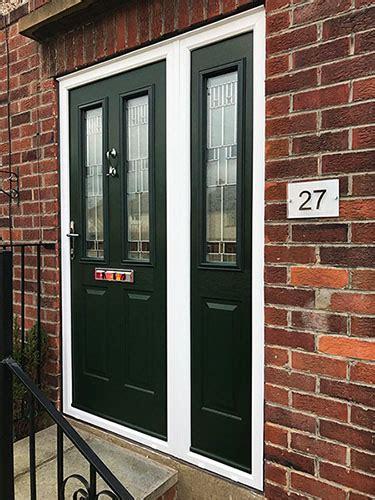 composite upvc aluminium doors installed  huddersfield