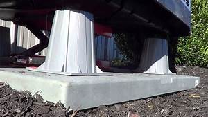 6 U0026quot  Condenser Heat Pump Riser Elevator Stands