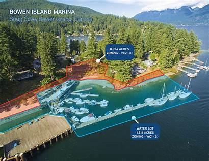 Island Bowen Marina Aerial