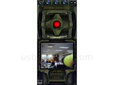 usb oic missile launcher integrated webcam gadgetsin
