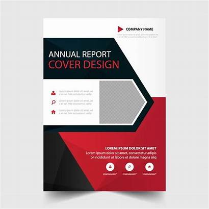 Flyer Template Report Annual Triangle Layout Pngtree