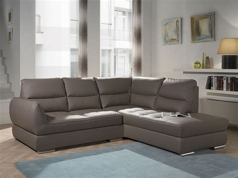 canape angle cuir taupe canape cuir taupe angle hoze home