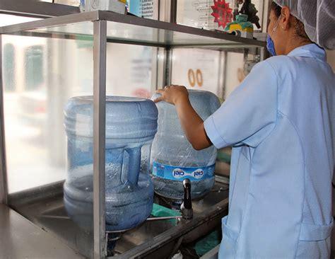 intensificaran inspeccion en plantas purificadoras de agua