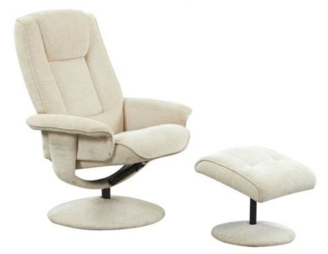 Reclining Armchair Fabric by New Miami Fabric Manual Reclining Swivel Recliner Armchair