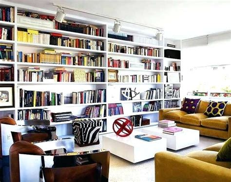 The Best Whole Wall Bookshelves