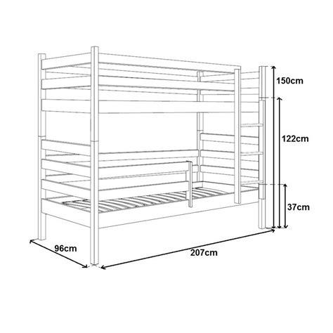 chambre bébé modulable deco in lits superposes en bois maron mathilde