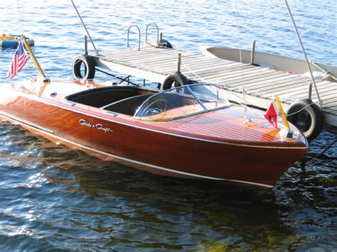 chris craft ladyben classic wooden boats  sale
