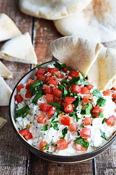 delicious easy dips garlicky feta dip delicious and easy party dips livingly