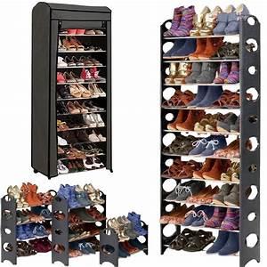 Range Chaussure Metal : etag re range chaussures modulable 2 en 1 30 paires meubles et am ~ Teatrodelosmanantiales.com Idées de Décoration