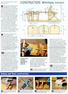 Whirligig Plans • WoodArchivist