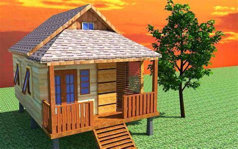 model rumah kayu minimalis desain modern