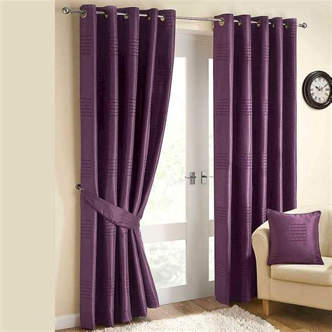 home decoration kitchen and solid purple curtains for decorating