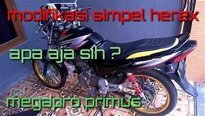 Megapro Primus   Modifikasi Simpel Megapro Primus Herex