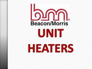 Beacon Morris Garage Heater Parts