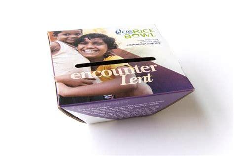 crs rice bowl donation lenten tradition arkansas catholic