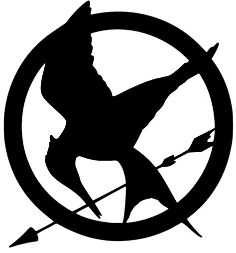 white and blue jeep hunger games mockingjay decal