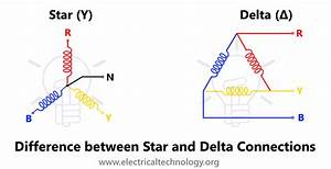 Difference Between Star And Delta Connections