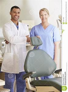 Portrait Of Dental Nurse In Dentists Surgery Royalty-Free ...