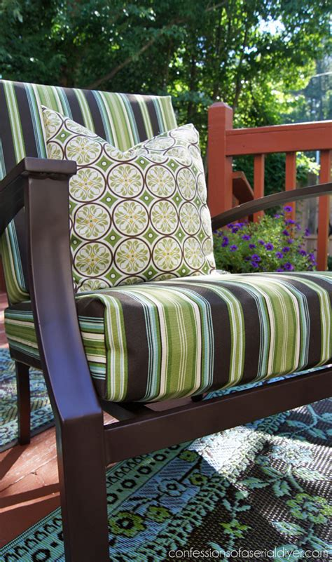 sew easy outdoor cushion covers oldie  goodie confessions   serial   yourselfer