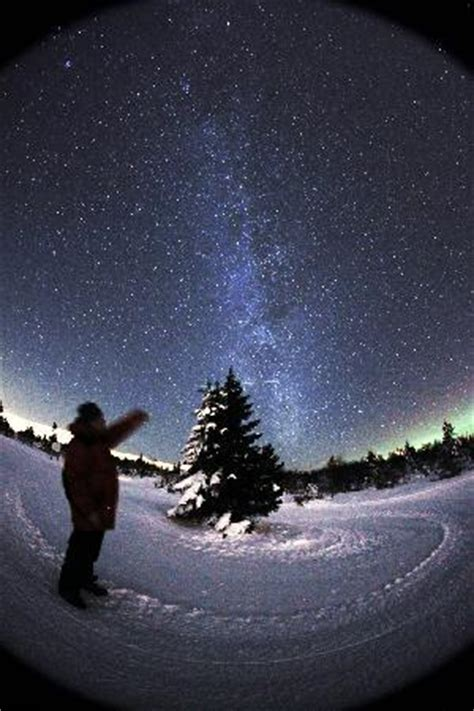Northern Lights Cabins Milkyway Picture