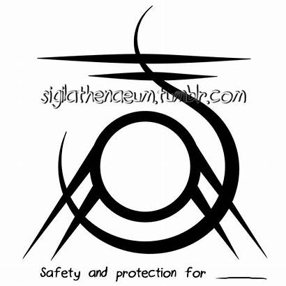 Sigil Protection Circle Wiccan Inside Person Magick