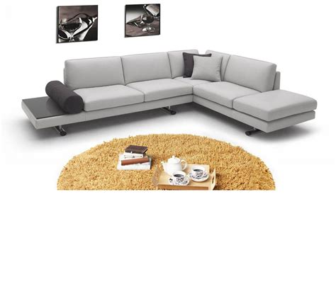 contemporary italian leather sectional sofas dreamfurniture com 946 contemporary italian leather