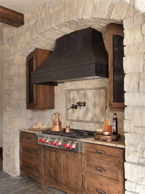 Rustic Kitchen   Custom Range Hood   Beck/Allen Cabinetry