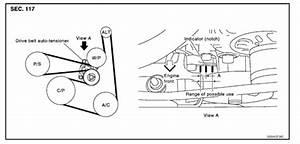 2008 Nissan X Trail Belt Diagram