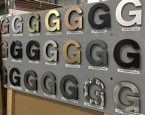 signage chemetal With gemini metal letters