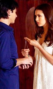 Damon Salvatore and Elena Gilbert | Fond d'écran vampire ...