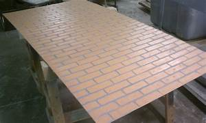 Faux Brick Panels With Modern Faux Fiberglass Brick For