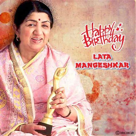 lata mangeshkar birthday wishes  images happy
