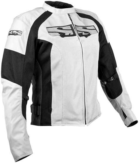 speed strength radar love womens mesh motorcycle jacket white
