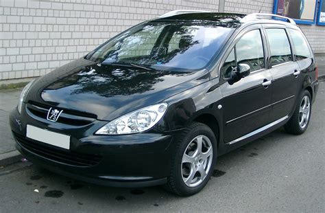 awesome peugeot 307 sw peugeot 307 sw technical details history photos on