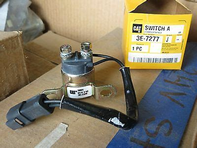 switch  magnetic cat caterpillar air inlet heater relay