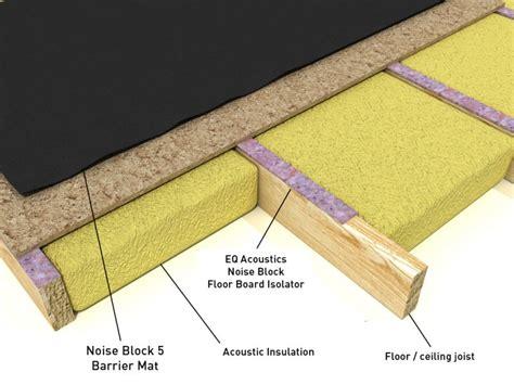 floor sound barrier eq acoustics