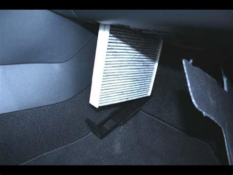 skoda rapid   change cabin air filter youtube