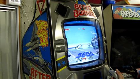 sega  burner arcade gameplay demonstration youtube