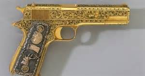 Real Gold Guns Images   Pictures - Becuo  Real Golden Guns