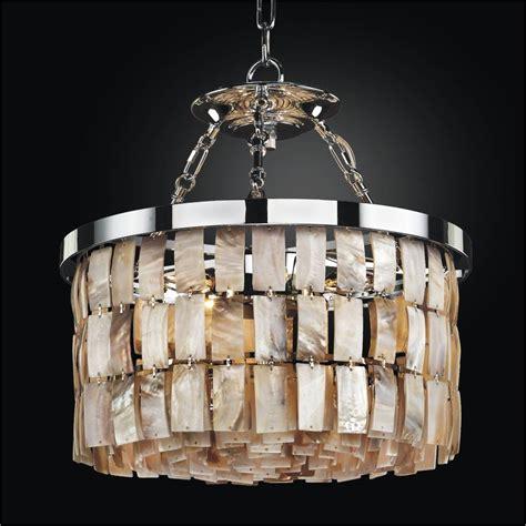 oyster shell chandelier la jolla 619 glow 174 lighting