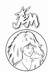 Coloring Jem Pages Holograms Stairs Sheets 80s Printable Le Kipper Books Popular Hologrammes Et Getcolorings Les Azcoloring Coloringhome sketch template
